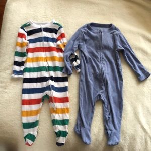 Set of two Old Navy Baby pj's 3-6 months